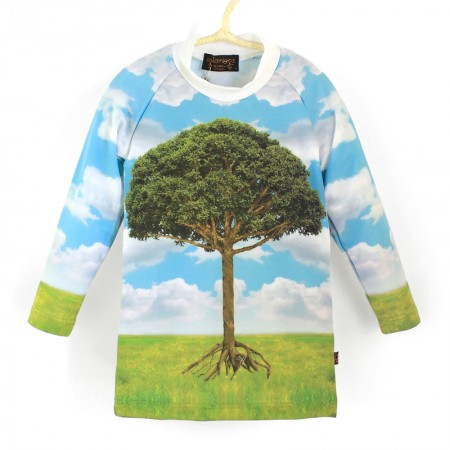 長袖上衣*Shirt, long sleeve 大樹 Tree*Solamigos瑞典防曬