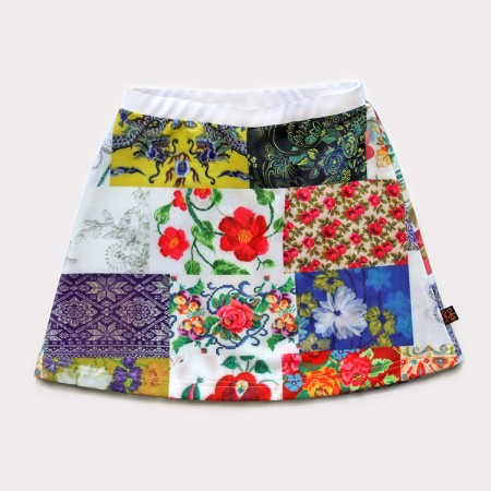 短裙*UV Skirt 圓夢 Patch Dream*Solamigos瑞典無毒防曬衣