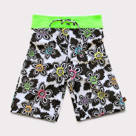 沙灘褲*Surfing shorts 扶桑花 Hibiscus*Solamigos