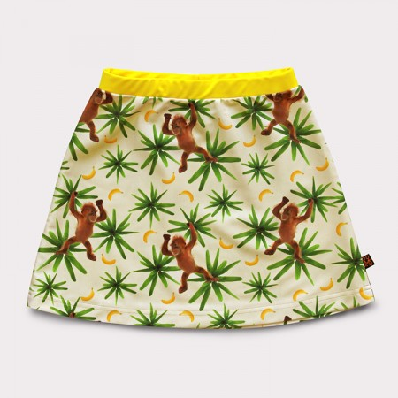 短裙*UV Skirt 頑皮猴 Monkeymania*Solamigos無毒防曬衣