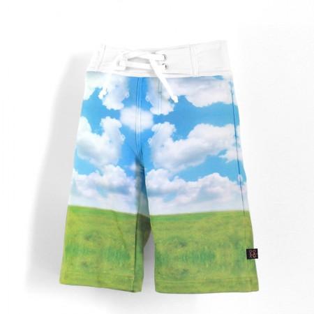 沙灘褲*Surfing shorts 大樹 Tree*Solamigos瑞典無毒防曬衣