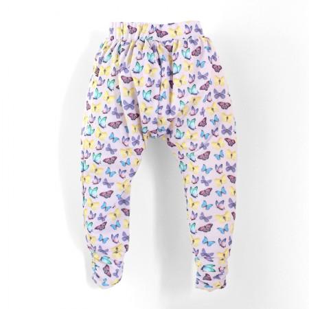 哈倫褲*Harem Pants 紫蝴蝶 Butterflies*Solamigos防曬衣