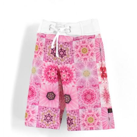 沙灘褲*Surfing shorts 粉紅夢 Pink Dream*Solamigos防曬