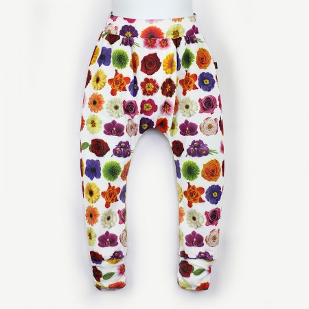 哈倫褲*Harem Pants 非洲堇 Flowerma*Solamigos瑞典無毒防曬衣