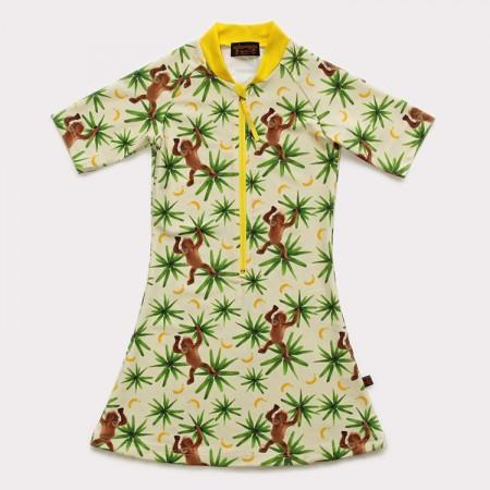 五分袖洋裝上衣*Dress 頑皮猴 Monkeymania*Solamigos無毒防曬衣