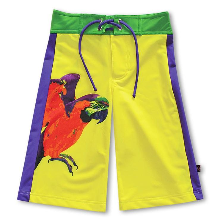 沙灘褲*Surfing shorts 鸚鵡 Papagayo*Solamigos無毒防曬衣