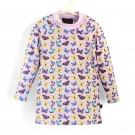 長袖上衣Shirt, long sleeve 紫蝴蝶 Butterflies*瑞典無毒防曬