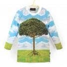 長袖上衣*Shirt, long sleeve 大樹 Tree*Solamigos瑞典防曬