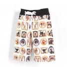 沙灘褲Surfing shorts 貓貓狗狗 Cats & Dogs*Solamigos
