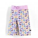 沙灘褲Surfing shorts 紫蝴蝶 Butterflies*Solamigos防曬