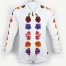 長袖拉鍊上衣(孩童&成人)*Top Zip long sleeve 非洲堇 Flowerman*