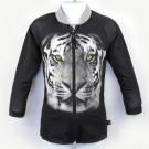 長袖拉鍊上衣(孩童&成人)*Top Zip long sleeve 老虎 Tiger*