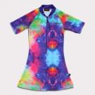 五分袖洋裝上衣* 太空幻想 Space Fantasy*Solamigos無毒防曬衣