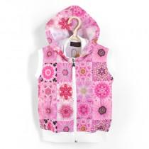 連帽背心UV Hoodie 粉紅夢 Pink Dream*Solamigos瑞典無毒防曬衣