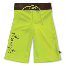 沙灘褲*Surfing shorts 嫩葉綠 Foliage*Solamigos無毒防曬衣