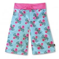 沙灘褲Surfing shorts 英倫玫瑰 Vintage*Solamigos無毒防曬衣