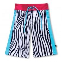 沙灘褲*Surfing shorts 斑馬 Zebra*Solamigos無毒防曬衣