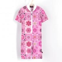 五分袖連身衣*Bodysuit 粉紅夢 Pink Dream*Solamigos