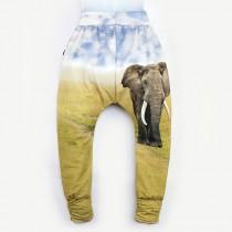 哈倫褲*Harem Pants 大象 Elephant*Solamigos瑞典無毒防曬衣