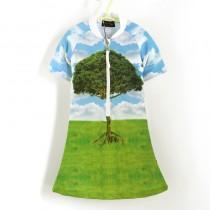 五分袖洋裝上衣*UV Dress 大樹 Tree*Solamigos無毒防曬衣